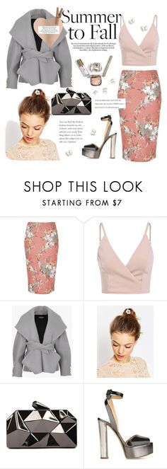 """Untitled #59"" by airarizti ❤ liked on Polyvore featuring River Island, Balmain, ASOS, WithChic and Giuseppe Zanotti"