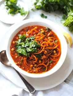 Sweet Potato Noodle Soup