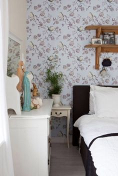 """This romantic bedroom is from our feature """"Pursuit of Pleasure"""""""