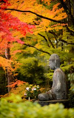 the Bhudda at the Eisho-in Temple (栄摂院), Kyoto Japan