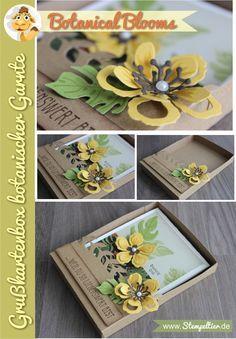 stampin up botanical blooms botanischer garten grußkarte geschenkbox frühjahr sommer 2016