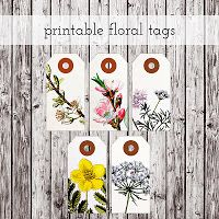 20 lovely free printable tags/labels for herbs, spices, home-made preserves and gifts