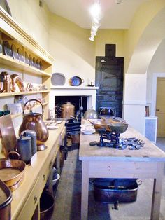 The Confectioner's Kitchen at Syon House. This was one of a number of paint analytical projects that I carried out in the house http://patrickbaty.co.uk/2010/12/09/syon-house-2/