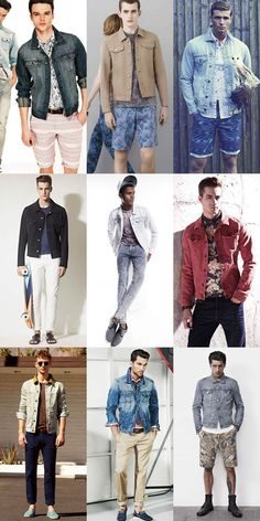 Mens Warm Weather Denim Jacket Lookbook