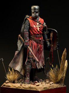 Knight Hospitaller, XIII century - Modelling