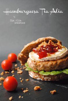Tía Alia Recetas: Hamburguesa Tía Alia para #LékuéBurger