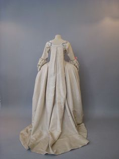 Reproduction of one of Marie Antoinette's dresses
