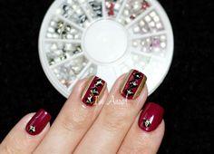 Born Pretty Store - Crackle Studs. by I'm A Nail Art Addict! http://iamanaa.blogspot.fr/2014/07/born-pretty-store-crackle-studs.html