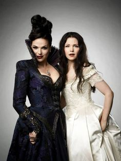 Evil Queen and Snow