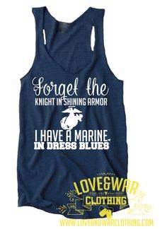 Forget the knight in shining armor, I have a Marine in dress blues Top
