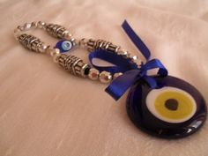 lucky evil eye nazar bead nazar boncuk GREEK by Istanbulpeshtemal, $3.50 Greek Evil Eye, Beaded Bracelets, Eyes, Trending Outfits, Unique Jewelry, Handmade Gifts, Vintage, Kid Craft Gifts, Pearl Bracelets