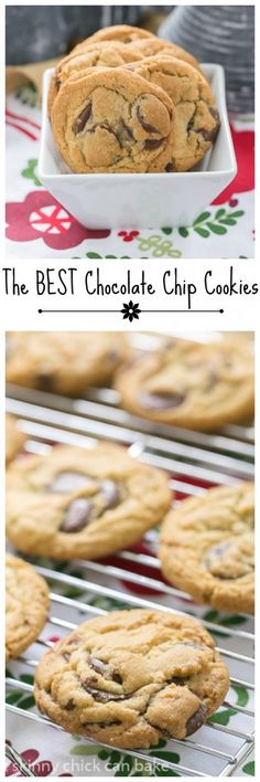 Jacques Torres' Secret Chocolate Chip Cookies | Truly the BEST chocolate chip cookie recipe!