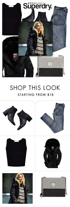 """The Cover Up – Jackets by Superdry: Contest Entry"" by rocio-martinez-1 ❤ liked on Polyvore featuring Zara, Cheap Monday, Superdry and Tommy Hilfiger"