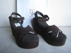 New-UFFIZI-Brown-color-Womens-Wedges-Size-10