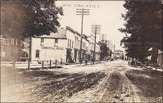 RP: Oak Street (dirt) , JUNEAU , Wisconsin , PU-1917