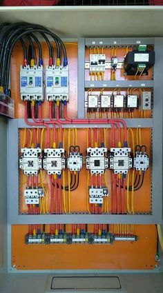 Pin by yunus nik on electrical wiring in 2019 electrical installation, elec Electrical Panel Wiring, Electrical Circuit Diagram, Electrical Plan, Electrical Projects, Electrical Engineering, Electrical Appliances, Solar Panel Battery, Solar Panel Kits, Wire Installation