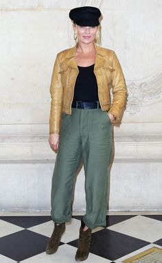 See the best celebrity looks from Paris Fashion Week, including details about their looks and which shows they attended.