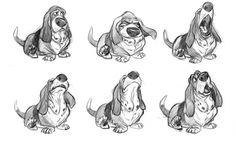Dog,expression design sketch on Behance