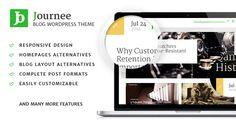 Journee - Premium Blog & Magazine WordPress Theme - Blog and Magazine