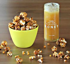 Clover Honey Caramel Corn- This recipe is so crunchy and delicious and uses our Clover Honey. You'll find Clover Honey light, delicate, sweet and buttery at first taste, followed by warm undertones of cinnamon and nutmeg.