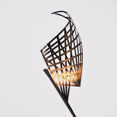 marleen kaptein employs aerospace fibre placement technique to form sculptural lighting