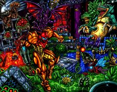 Super Metroid-  Running the Gauntlet by SoulStryder210 on DeviantArt