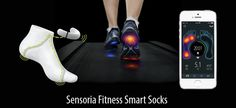 Sensoria Fitness: motion and activity tracking smart clothing for sports and fitness