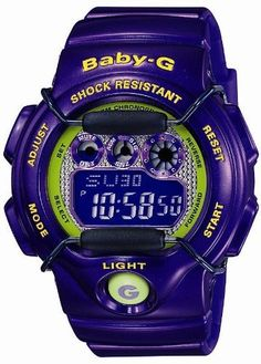 Casio Baby-G Ladies Limited BG-1005M-6 Casio. $149.99. Buckle closure.. Hourly time signal.. Backlight with afterglow.