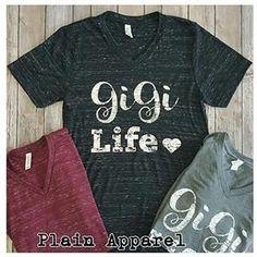 0a9cb95c 17 Best Gigi shirts images | Gigi shirts, Grandma gifts, Grandma names