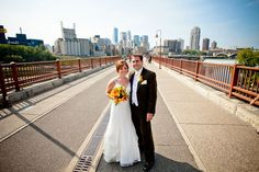 Stone Arch Bridge  Read more: http://www.jubileeweddingsevents.com/blog/outdoor-wedding-engagement-photo-locations/