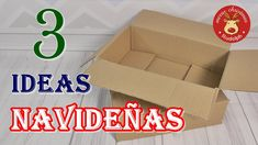 3 Christmas ideas recycling cardboard to decorate at Christmas. Crafts with cardboard Ideas Navideñas, Cardboard Crafts, Merry Christmas, Christmas Ideas, Christmas Crafts, Handicraft, Recycling, Christmas Decorations, Diy