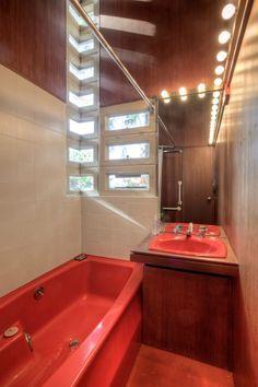Usonian-style bathrooms - Google Search