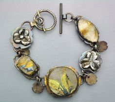 Rough and Rutilated 3 by Temi on Etsy, $260.00