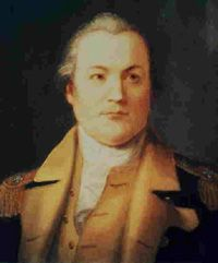 William Alexander, known as Lord Stirling, (1726-1783), was an American major-general during the American Revolutionary War. He commanded the 1st Maryland Regiment that fought at the Battle of Long Island. He lost the battle and was captured but his actions allowed General George Washington's troops to escape. Stirling was returned by prisoner exchange, promoted for his actions, and served with distinction throughout the war.