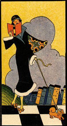 Vintage women reading MORE vintage: www.girlinthejitterbugdress.com #ArtDeco #VintageReading #1920s