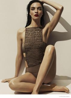 More Photos of Liu Wen, Mariacarla Boscono & Daria Strokous Revealed for La Perla