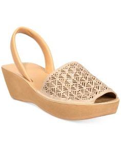 72ac011af42d Kenneth Cole Reaction Women s Fine Glass 3 Platform Wedge Sandals   Reviews  - Sandals   Flip Flops - Shoes - Macy s