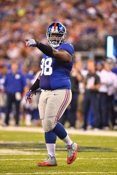 Preseason Week 1 Giants vs Dolphins: Giants DL Damon Harrison (8/12/16)