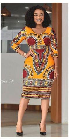 African Dashiki Dress, African Fashion Ankara, Latest African Fashion Dresses, African Print Fashion, Africa Fashion, African Women Fashion, African Dresses For Women, African Attire, African Dress Styles