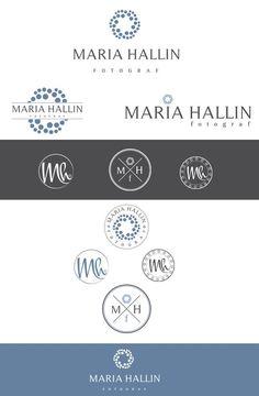 Inspiring logo for Swedish wedding/pregnancy/newborn/family photographer by ByMe_Design