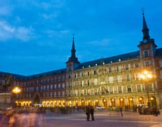 Plaza Mayor - Madrid, Spain.   Delicious food and sangria!!