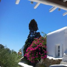 Seaside Cottage by Belvedere at Psarou Beach, Mykonos. Photo credit: @idragon_78
