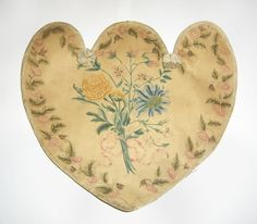 Fan (Hand screen) Category: Works on Paper  Place of Origin: Probably United States, Probably North America  Date: 1800-1825  Materials: Paper; Cardboard; Paint; Silk tape  Techniques: Painted  Museum Object Number: 1958.2972