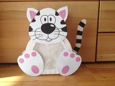 Laterne Katze von Die Bastelfarm auf DaWanda.com