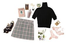 """""""blush"""" by nina-ci on Polyvore featuring H&M, Jayson Home, Retrò, Converse and Marc by Marc Jacobs"""