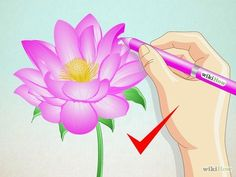 Image titled Draw a Lotus Flower Step 7