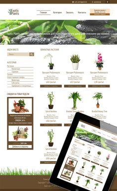 https://www.behance.net/gallery/16302809/Exotic-Plants-online-shop