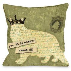 Cute Cat Lovers Pillow.