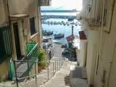 Harbour view from many of the streets Greece, Street, Greece Country, Walkway