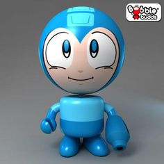 Collection Bobble Budds - Megaman - http://coolgadgetsmarket.com/collection-bobble-budds-megaman/